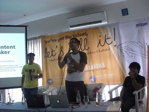 Talkshow & Sharing Komikus & Ilustrator  - Penerbit Mizan - We've got talent, let's sell it