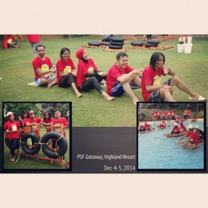 "The Winner ""Team Science"" PSF Getaway 2014  by Nchie Hanie."