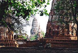 Peninggalan Kerajaan Sriwijaya Ayutthaya di Thailand