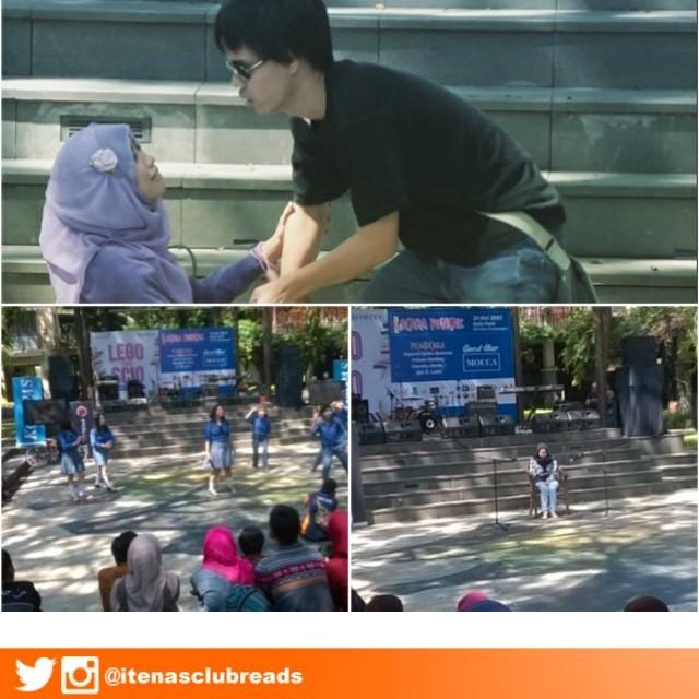 Pertunjukan Kabaret Dari Kampus Itenas Bandung