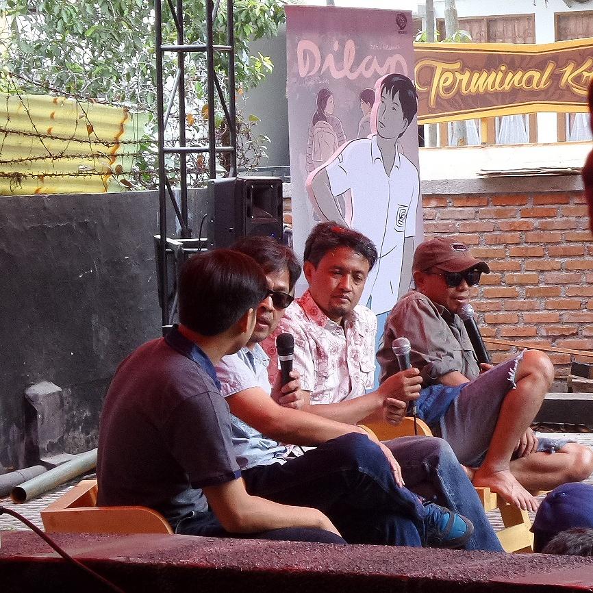 Pidi Baiq di Acara Launching Dilan 2