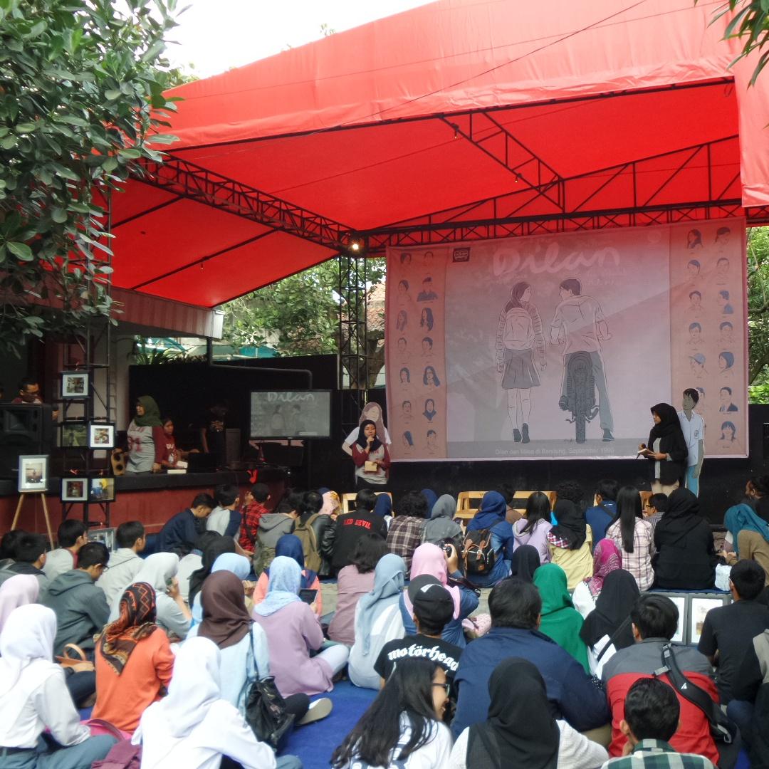 Serunya Launching Dilan 2