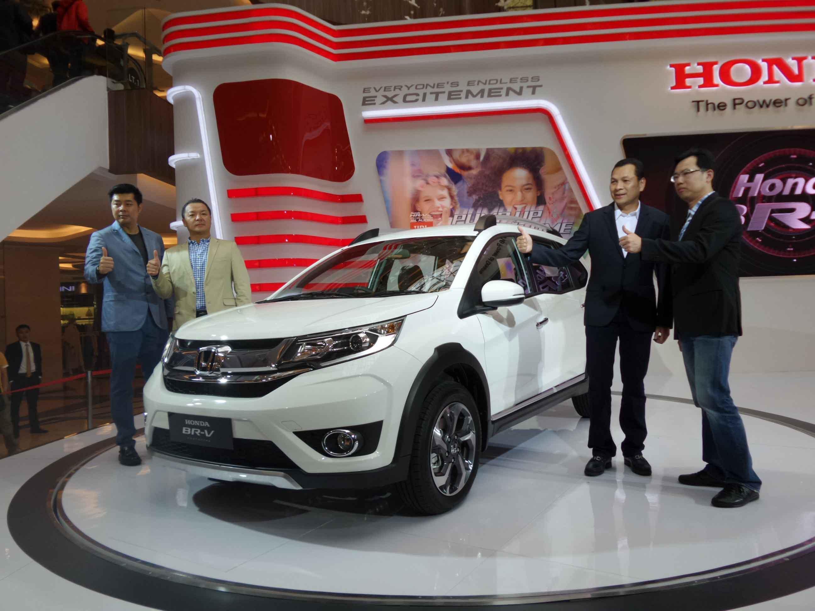 Honda BR-V Prototype diperkenalkan di Pameran Honda Bandung