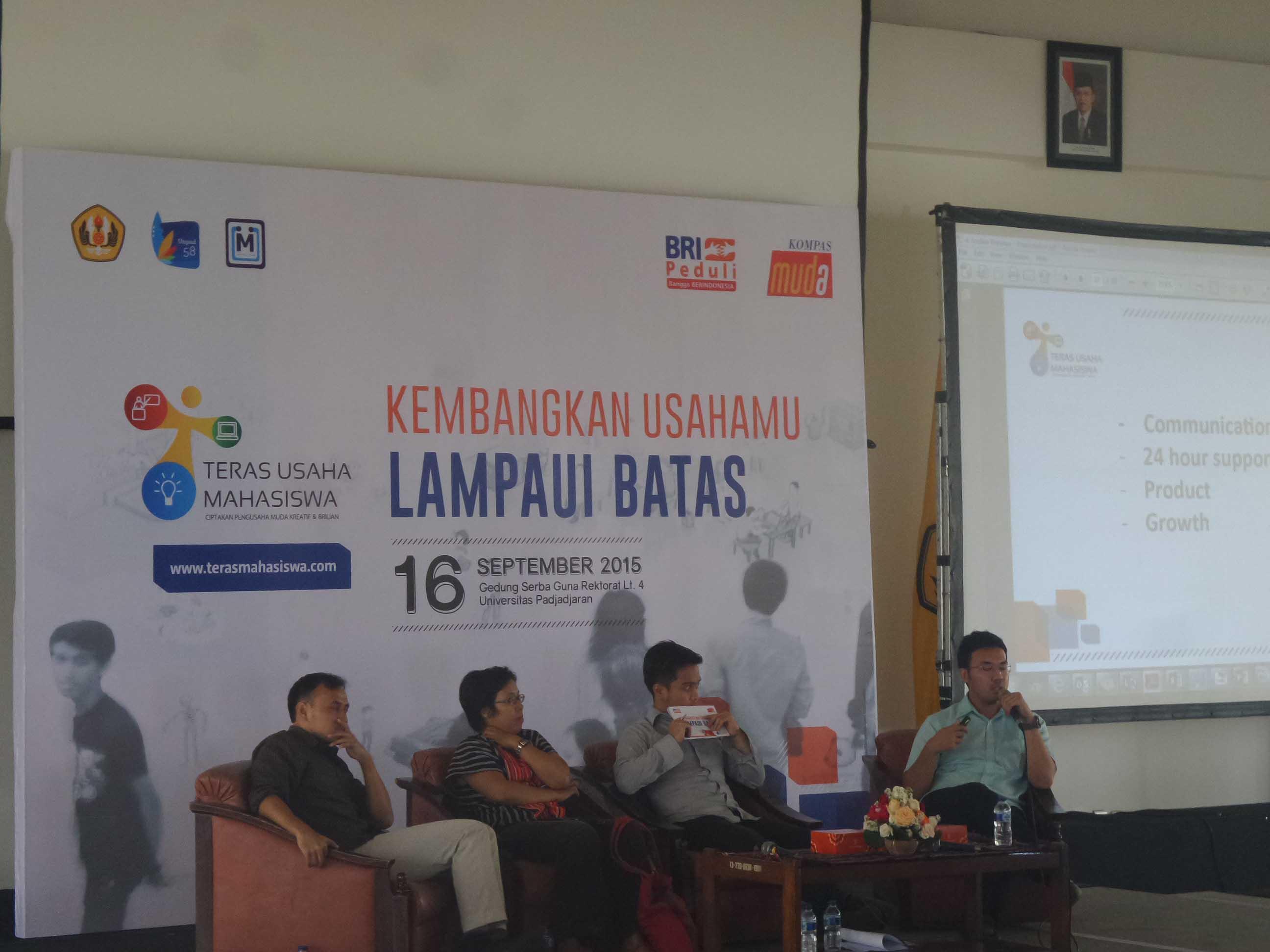 Kelas Paralel Teras Usaha Mahasiswa Bandung