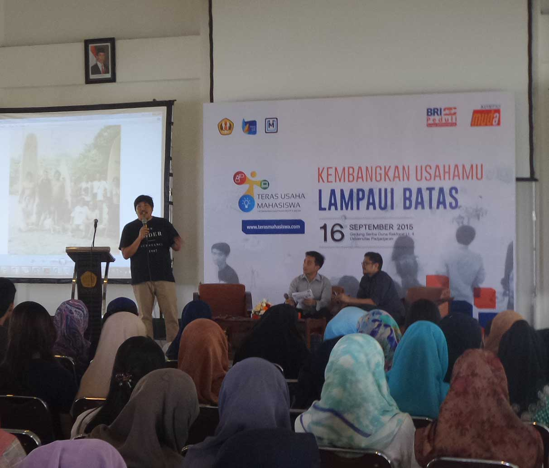 Kelas Pleno Teras Usaha Mahasiswa Bandung