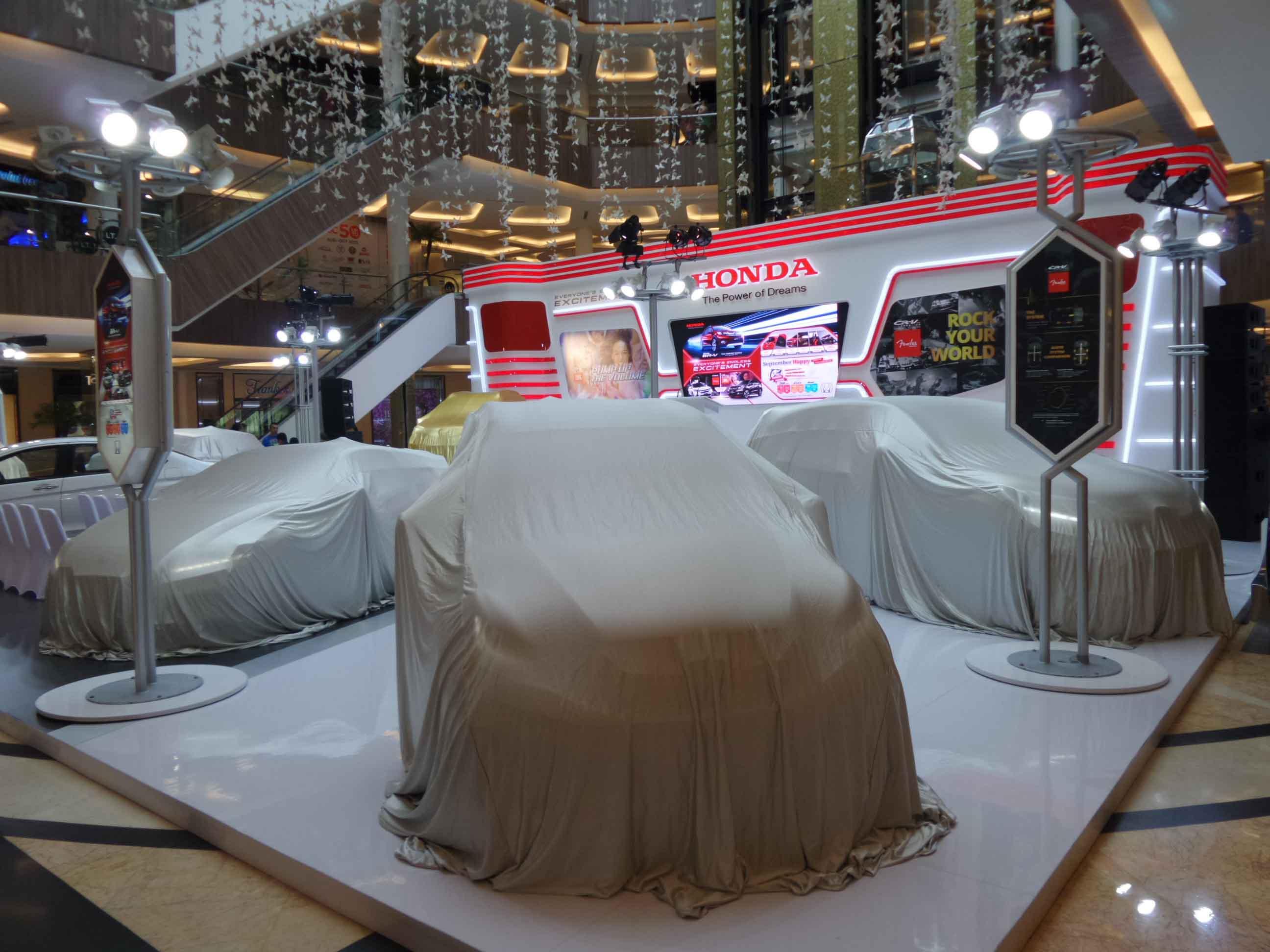 Pameran Honda Bandung 2015 di Trans Studio Mall