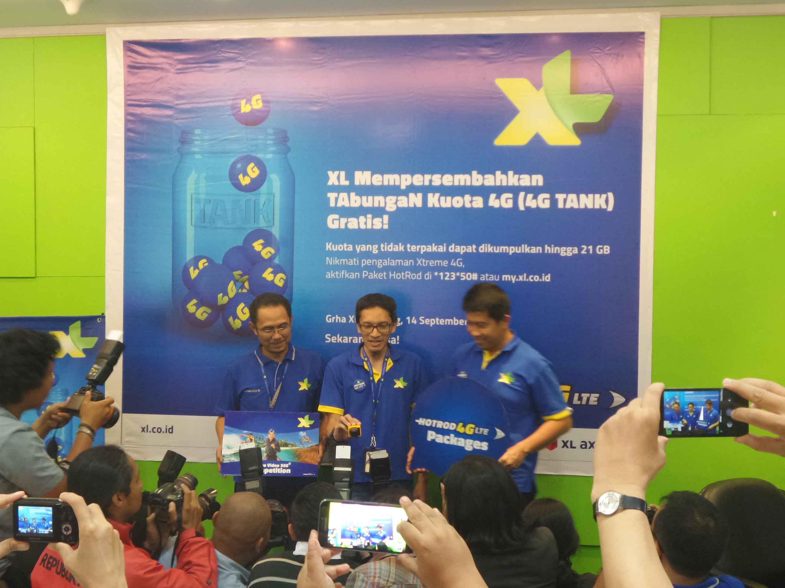 TAbuNgan Kuota 4G dari XL