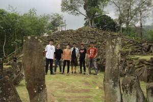 Obyek Foto di Situs Megalitikum Gunung Padang Cianjur