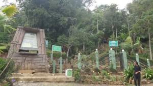Pintu Masuk Situs Megalitikum Gunung Padang Cianjur