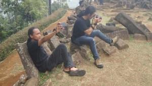 Situs Megalitikum Gunung Padang Asyik Buat Selfie Ataupun Bikin Karya Photography