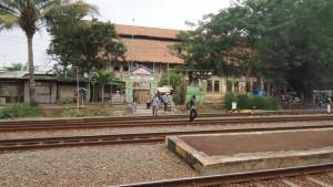Akses Jalan di Area Foto Stasiun Purwakarta