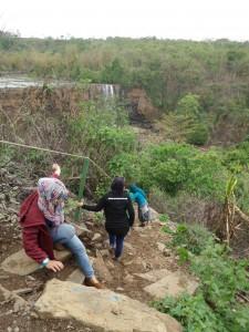 Akses Jalan ke Curug Awang - Geopark Ciletuh Sukabumi