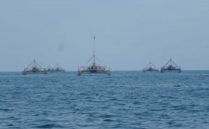 Bagang Penangkap Ikan - Geopark Ciletuh