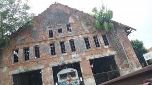 Bangunan Tua di Stasiun Purwakarta