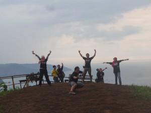 Blogger Bandung di Puncak Darma