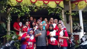 Kompasianer Bandung bersama Ahmad Heryawan