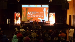 Press Conference ACF Fest 2015