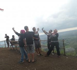 Selfie Groufie - Geopark Ciletuh Sukabumi