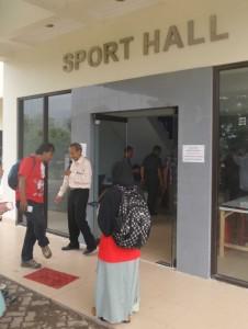 Sport Hall UPI - PON XIX dan PAPERNAS XV 2015