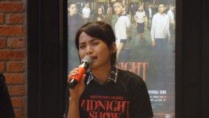 Acha Septriasa di Film Midnight Show