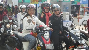 City Touring Fashinable New Fino 125 Blue Core di Bandung