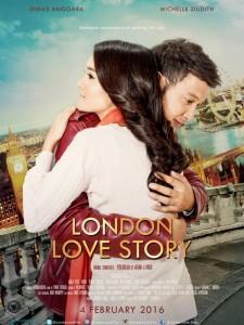Film Baru bulan Februari 2016 - Film Valentine - London Love Story