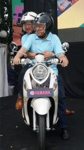 Kemesraan CEO dan COO Yamaha Indonesia
