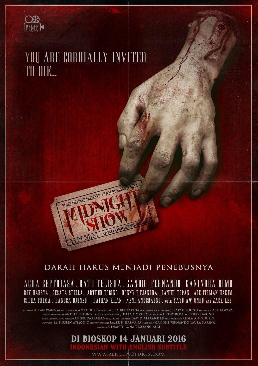 Siapakah Psikopat di Film Midnight Show?