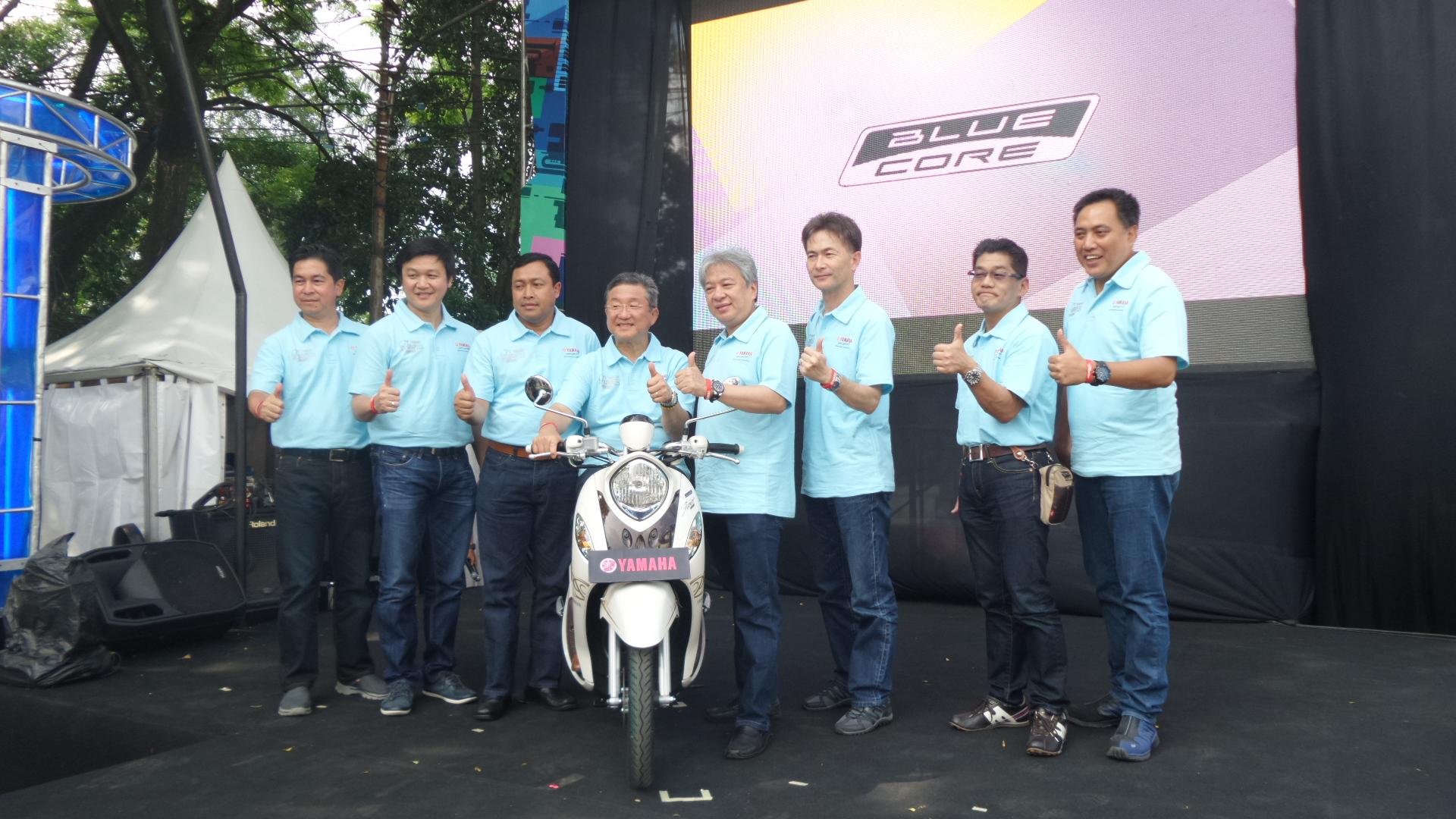 Yamaha New Fino 125 Blue Core: Dari Wanita, Oleh Wanita, Untuk Wanita