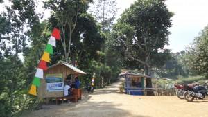 Tempat Bayar Parkir ke Tebing Keraton Bandung