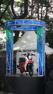 Yamaha New Fino 125 Blue Core Sportif Noir