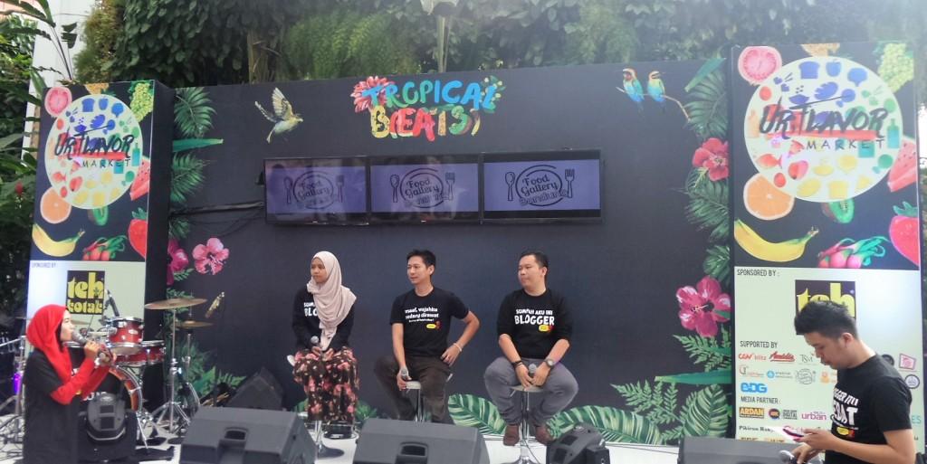 Acara Ur Flavor Market bersama Blogger Bandung - Penjaja Kata