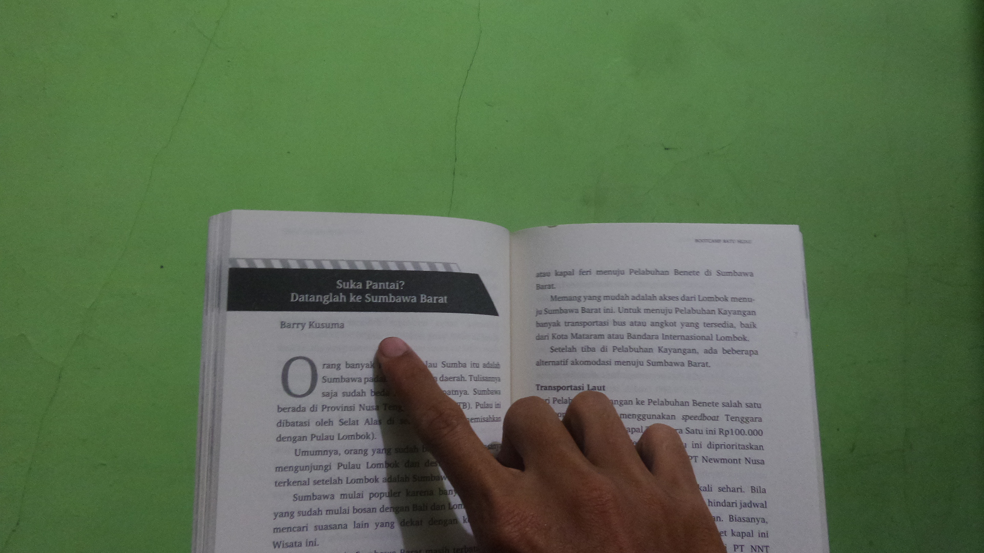 Salah Satu Cerita di Buku Buka-Bukaan Dunia Tambang