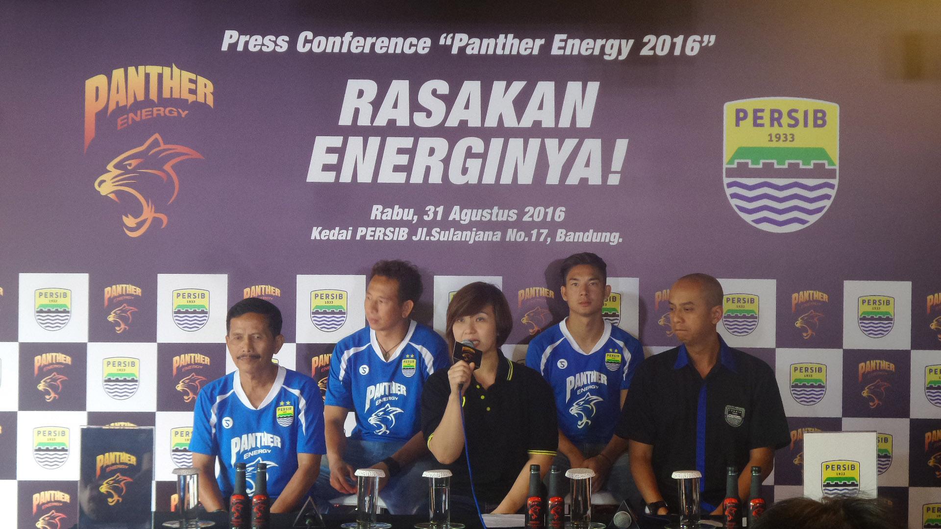 "Kerjasama Dua Kucing Besar ""Panther Energy dan Persib Bandung"""