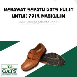 Merawat Sepatu Gats Kulit Untuk Kamu Pria Maskulin