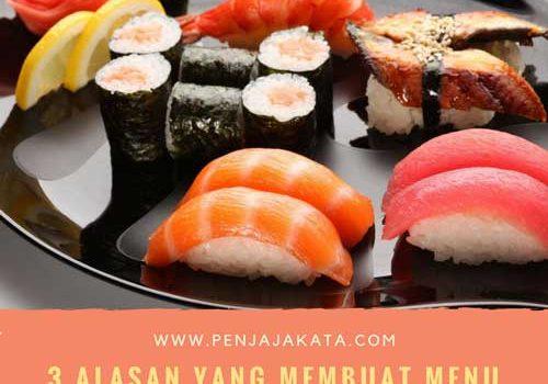 3 Alasan yang Membuat Menu Makan Jepang di Jakarta Dikenal Sehat