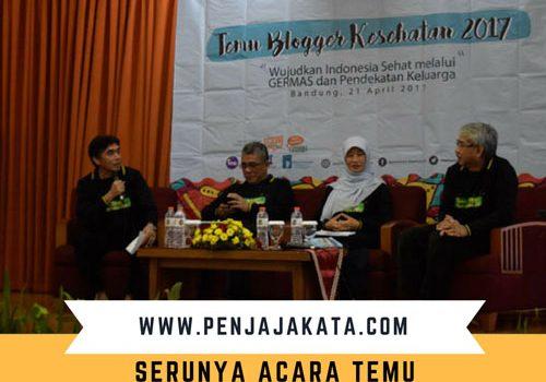 Serunya Acara Temu Blogger Kesehatan Jawa Barat 2017