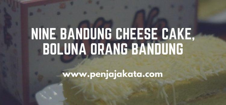 NiNe Bandung Cheese Cake, Boluna Orang Bandung